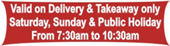 Breakfast Home Delivery & Takeaway Options