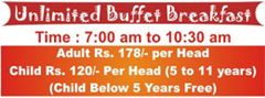 Unlimited Buffet Breakfast